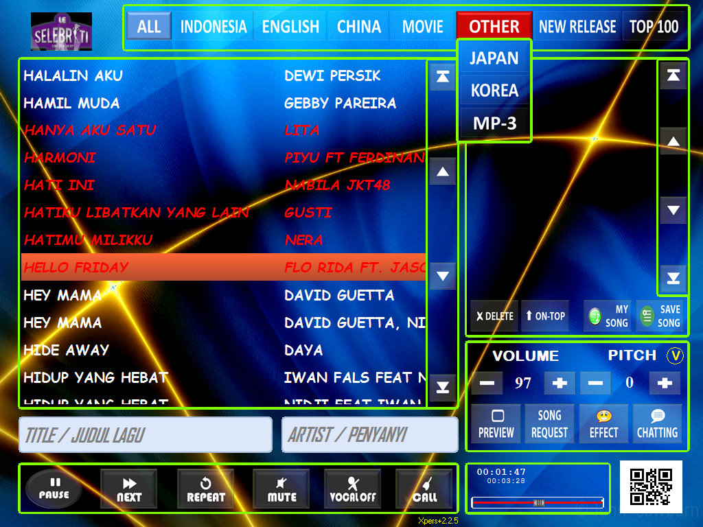 karaoke android system